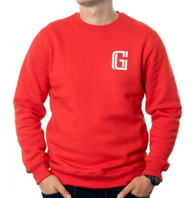 Bluza G-FOR STRACH Czerwona