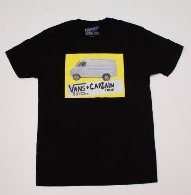 Koszulka VANS VAN BLACK