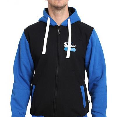 Bluza PATRIOTIC BASE Black/Blue