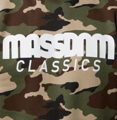 Bluza MASS DNM Crewneck Classics Woodland Camo
