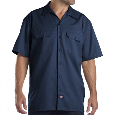 Koszula DICKIES SHORT SLEEVE Original Fit 1574 Navy