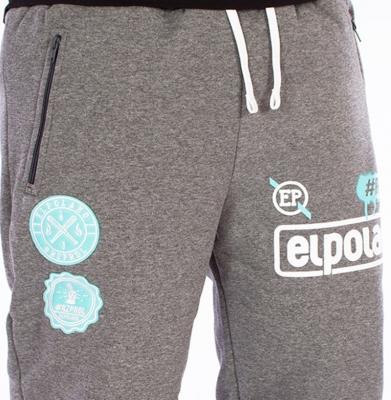 Spodnie Dresowe EL POLAKO Rzprdl Grafitowe