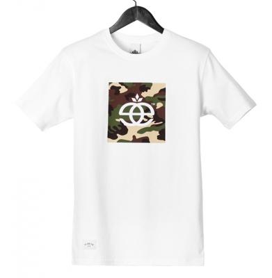 Koszulka ELADE ICON CAMO WHITE