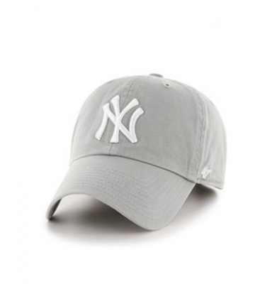 Czapka 47 BRAND New York Yankees Clean Up Szara