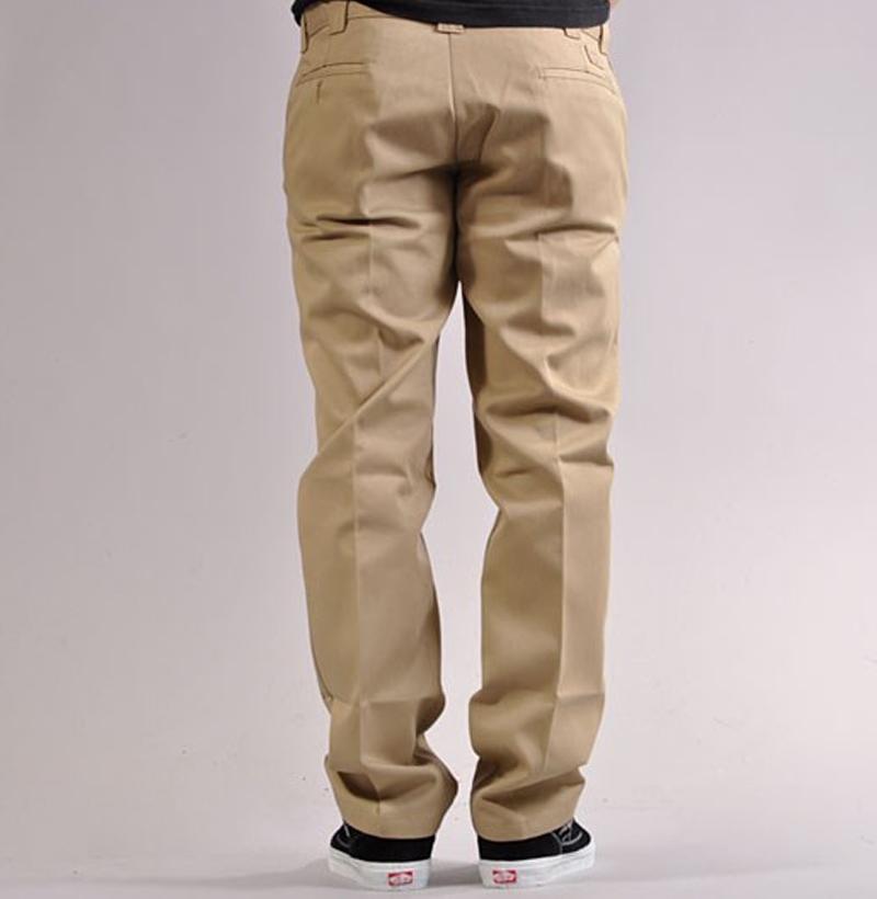 Spodnie DICKIES 873 SLIM STRAIGHT WORK PANTS Khaki