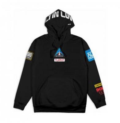 Bluza DGK Discovery Fleece Black