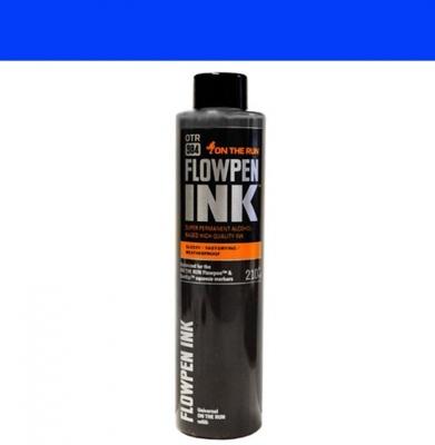 Tusz ON THE RUN Flowpen Ink Royal Blue 210ml