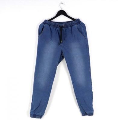 Spodnie MORO Joggery Mini Slant Tag Pocket Medium Blue