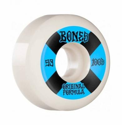 Kółka BONES OG FORMULA WHITE SIDECUT V5 53mm
