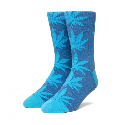 Skarpety HUF Plantlife Melange Olympian Blue