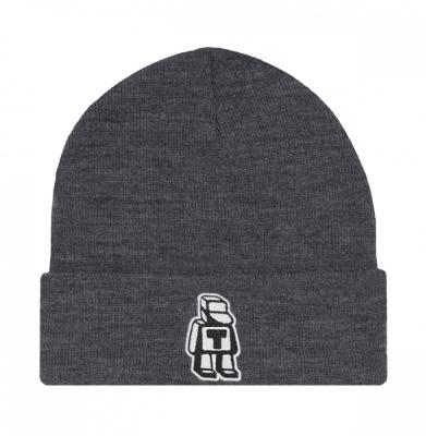 Czapka Zimowa TABASKO Beanie Logo Gray