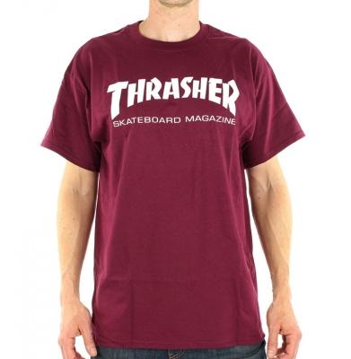 Koszulka THRASHER Skate Mag Maroon