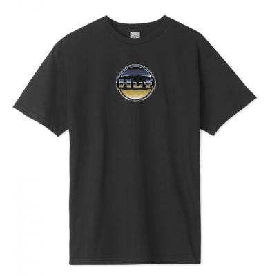Koszulka HUF Chrome Logo Black
