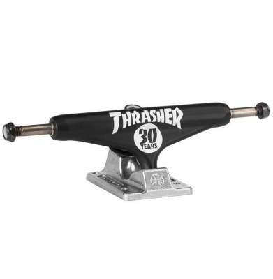 Trucki INDEPENDENT Thrasher 30th Hollow Black/Silver 139