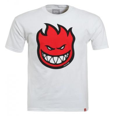 Koszulka SPITFIRE Bighead Fill White/Red