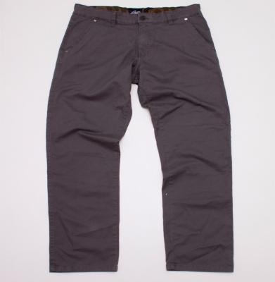 Spodnie MORO Chino Mini Leather Szare