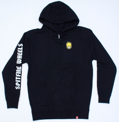 Bluza SPITFIRE LIL BIGHEAD Zip Fil Hambre Black