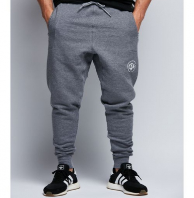 Spodnie Dresowe DIAMANTE WEAR 'Di' Hipster Szare