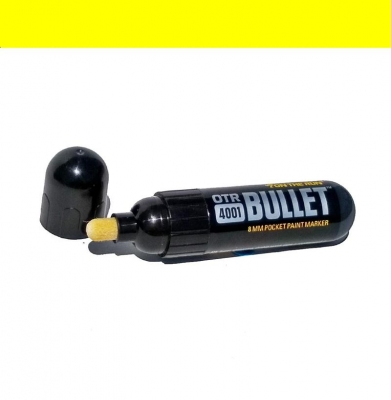 Marker ON THE RUN 4001 Bullet Yellow 8mm