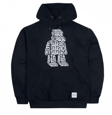 Bluza TABASKO Hoody Logo Wrap Black