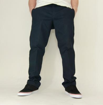 Spodnie DICKIES 873 SLIM STRAIGHT WORK PANTS Navy