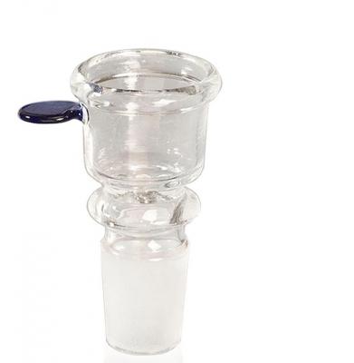 Cybuch Krótki Glass Bowl do Fajki 18,8mm