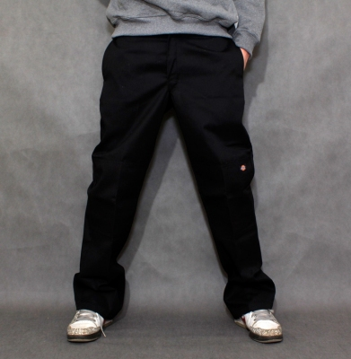 Spodnie DICKIES DOUBLE KNEE WORK PANTS Black
