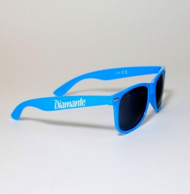 Okulary DIAMANTE WEAR Niebieskie
