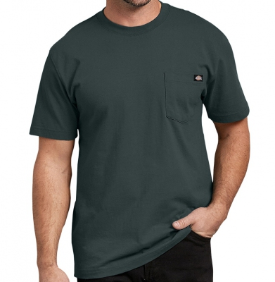 Koszulka DICKIES SHORT SLEEVE HEAVYWEIGHT Hunter green