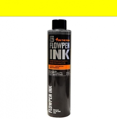 Tusz ON THE RUN Flowpen Ink Yellow 210ml