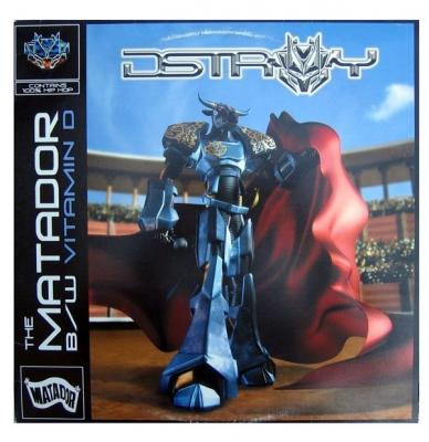 Vinyl Destroy - The Matador/ Vitamin D