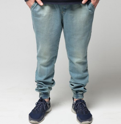 Spodnie DIAMANTE WEAR Jogger Paint Light Jeans