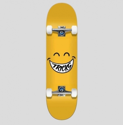 Deskorolka TRICKS SMILEY 7.375 Kids