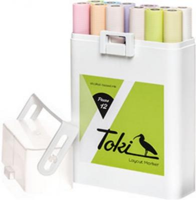Markery TOKI Layout Set Pastel