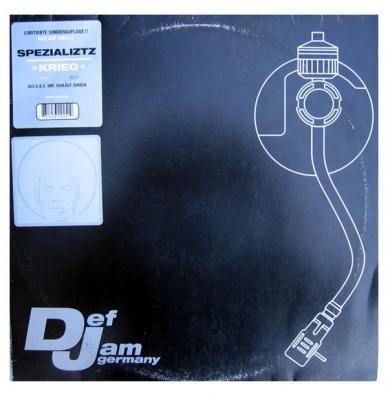 Vinyl Spezializtz - Krieg