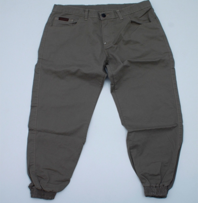 Spodnie Jogger MORO Mini Baseball Leather Beżowe