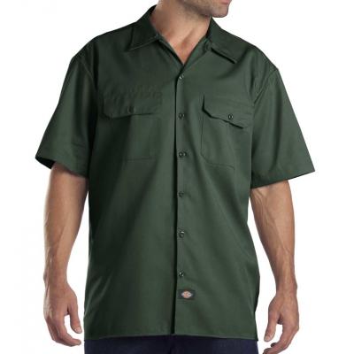 Koszula DICKIES SHORT SLEEVE Original Fit 1574 Hunter Green