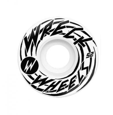 Koła WRECK Havoc Original Cut HF White 52mm