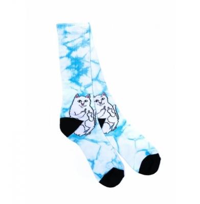 Skarpety RIP N DIP Lord Nermal Socks Mint Tie Dye
