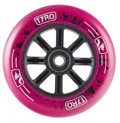 Kółko LONGWAY Tyro Nylon Core Różowe 110mm