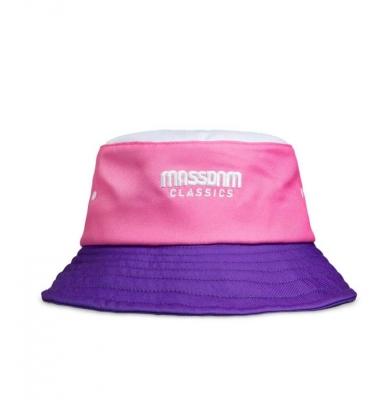 Czapka MASS DNM Zone Bucket Hat White/Pink/Purple