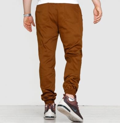 Spodnie GRUBE LOLO Jogger Classic Brązowe
