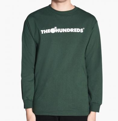 Bluza THE HUNDREDS Forever Bar Dark Green