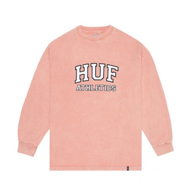 Longsleeve HUF Draft Acid Wash Casual Sunset