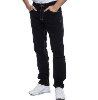 Spodnie MASS DNM BASE Jeans Regular Fit Black Rinse