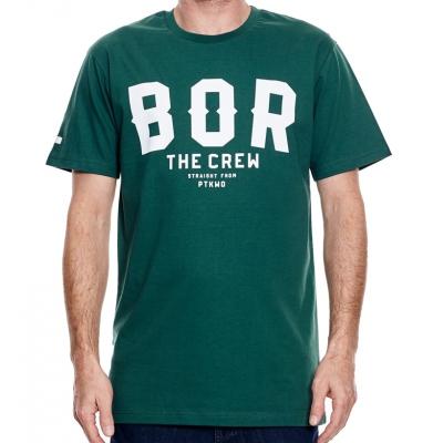 Koszulka BOR BORCREW THE CREW Zielona
