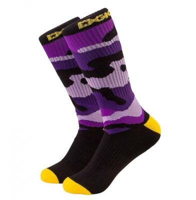 Skarpety DGK Crew Socks Fioletowe