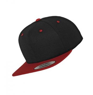 Snapback YUPOONG 2-TONE Black Red