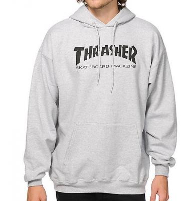 Bluza THRASHER Skate Mag Gray