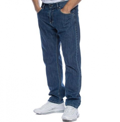 Spodnie MASS DNM BASE Jeans Regular Fit Niebieskie
